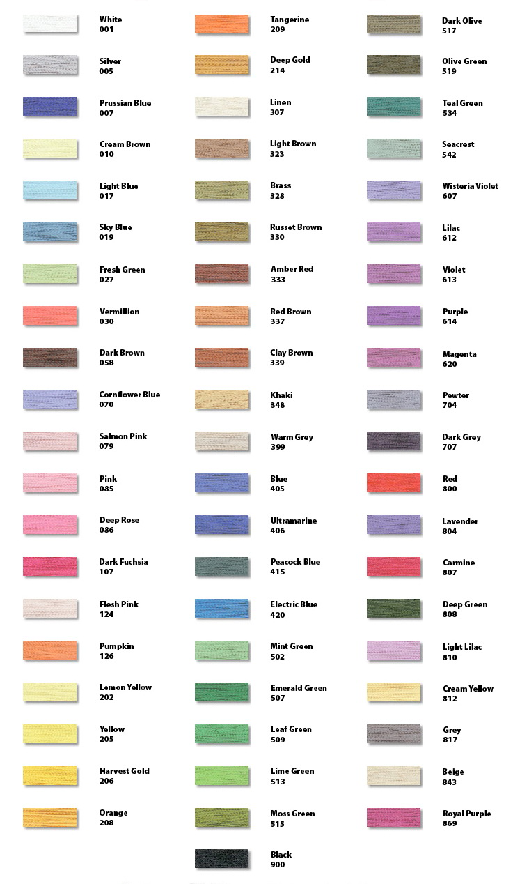 Embroidery thread color chart tamarac free embroidery makaroka floriani embroidery thread conversion charts car tuning nvjuhfo Image collections